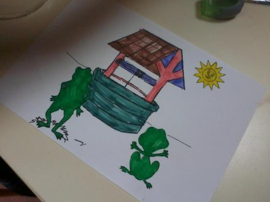 Le puits de Grigou et Froggie