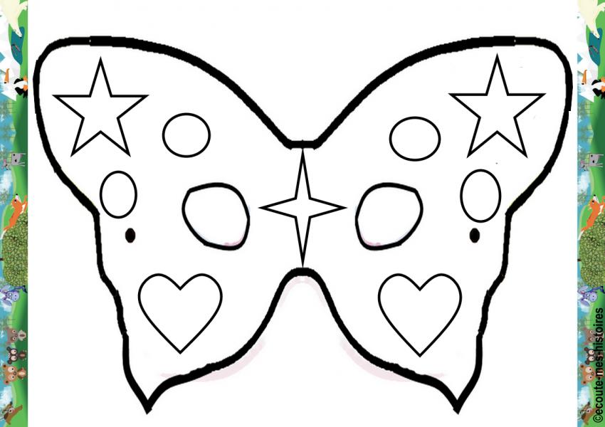 A3 masque