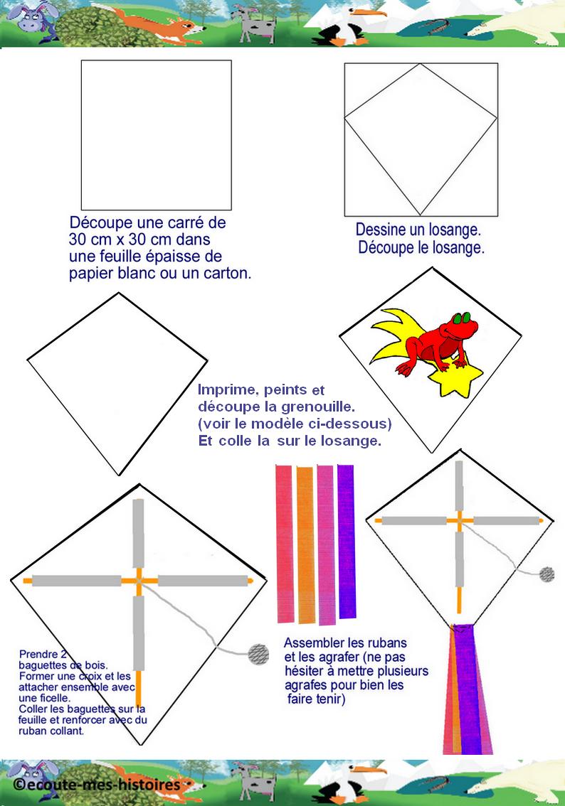 activit manuelle cerf volant fashion designs. Black Bedroom Furniture Sets. Home Design Ideas