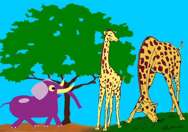 Nesha girafles1