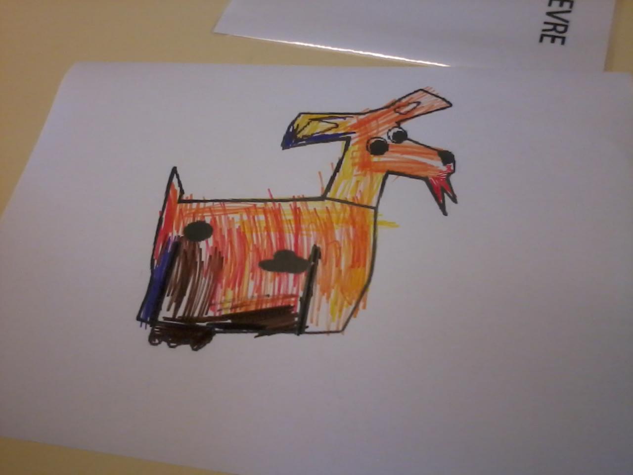Orion à la ferme - La chèvre