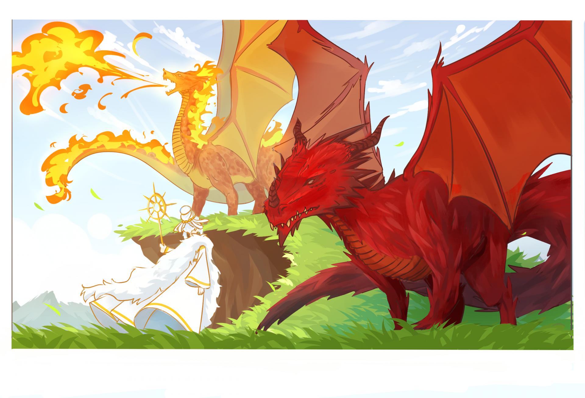 La dame et le dragon chap2