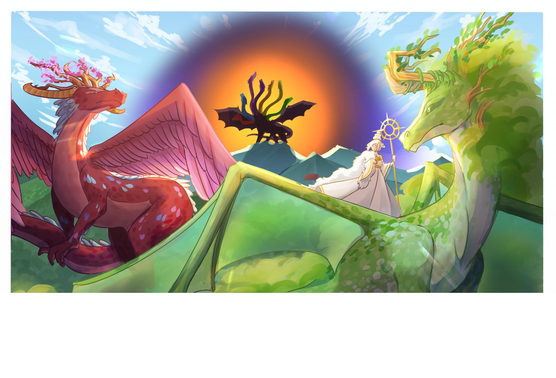 La dame et le dragon chap3