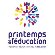 Logo - Printemps de l education